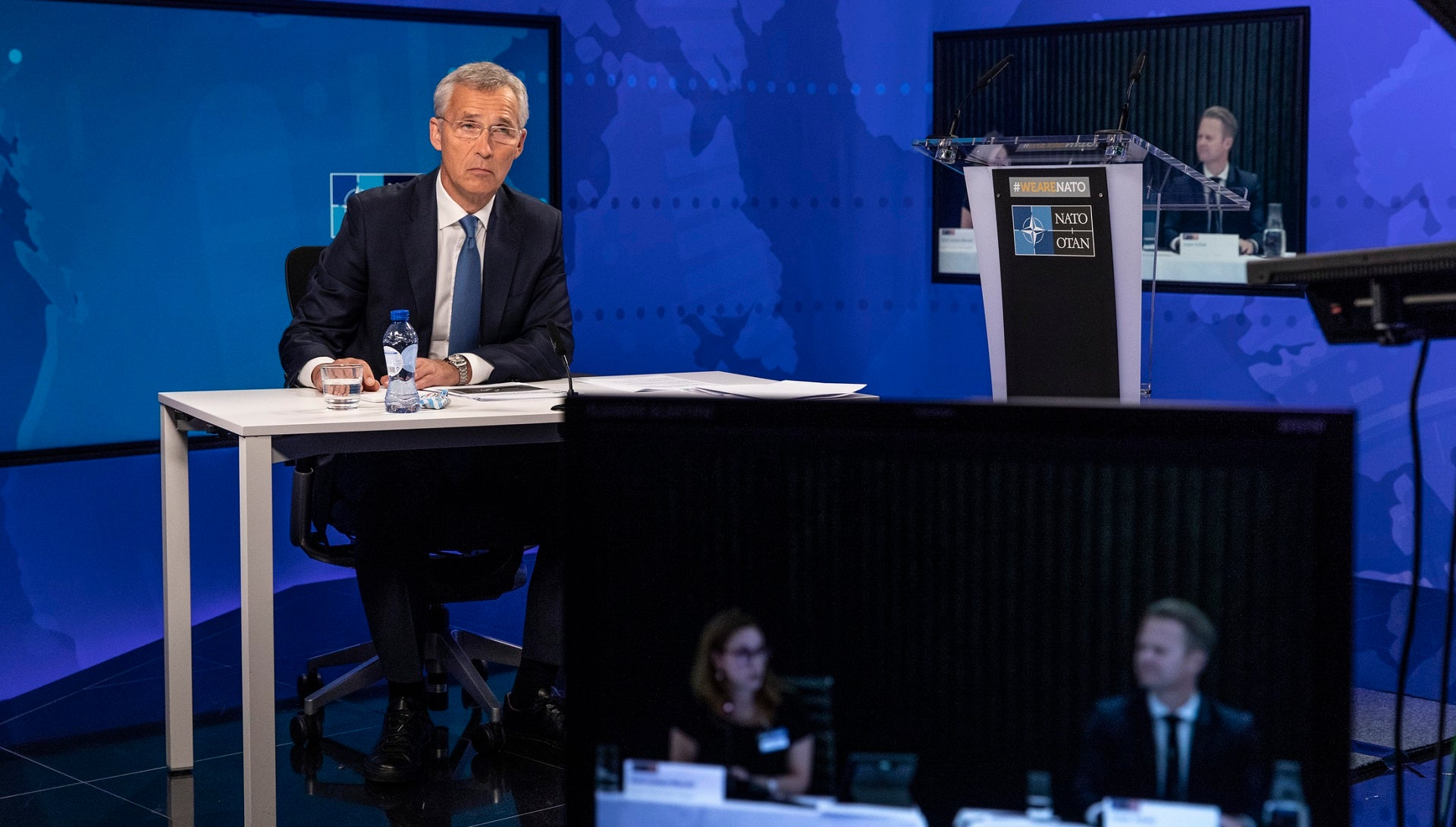 Nato secretary-general lays out priorities for nuclear disarmament