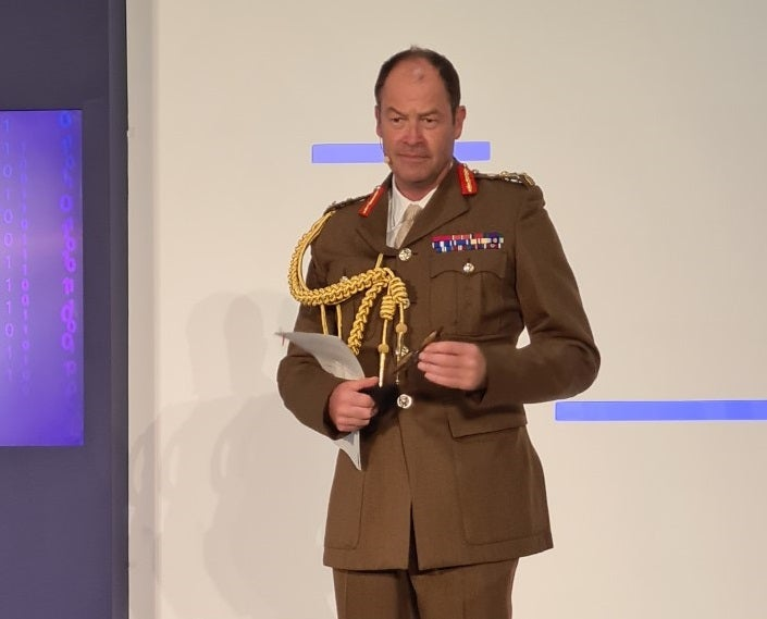 Gen. Sir Patrick Sanders delivers DSEI Strategic Command keynote