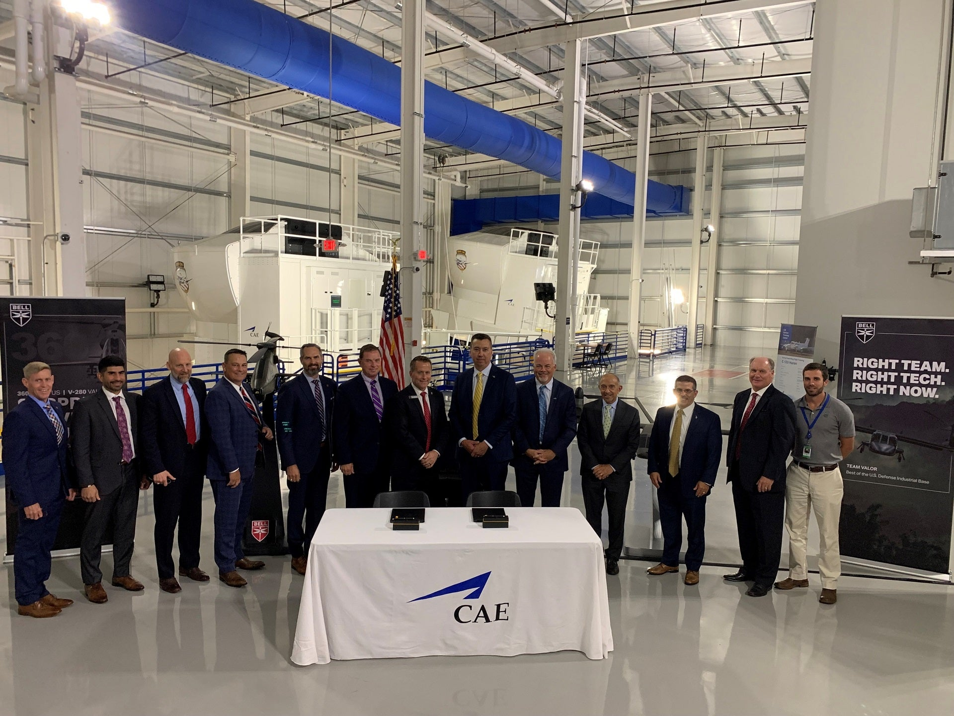 Bell, CAE sign teaming agreement for US Army FLRAA and FARA training