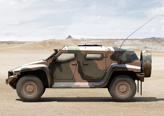 ThalesAustralia's Hawkei Light Protected Vehicle