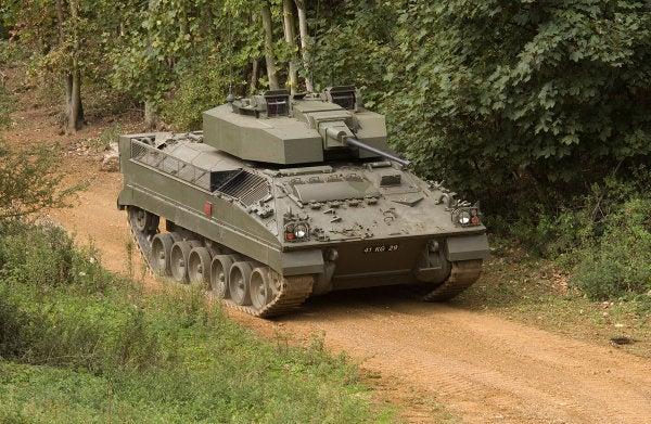 Warrior CSP vehicle