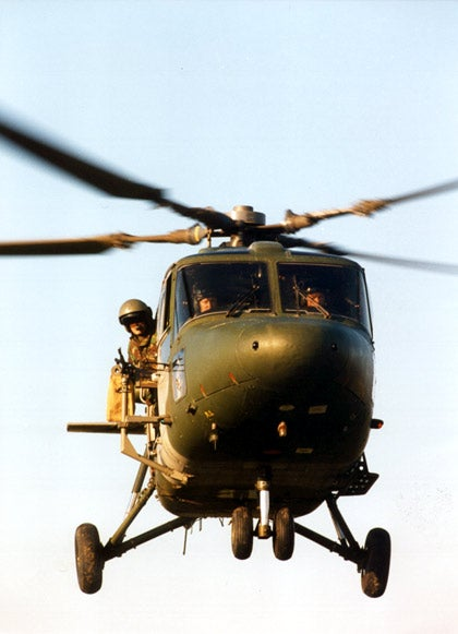 British Army's Lynx AH Mk9A helicopter