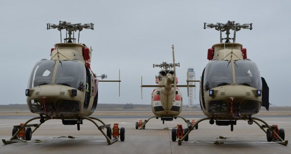 407 Scout helicopters