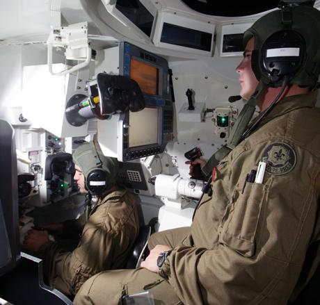 combat vehicle simulators
