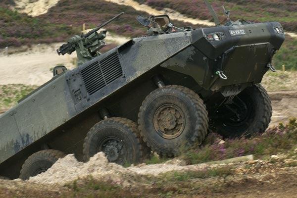 Piranha V vehicle