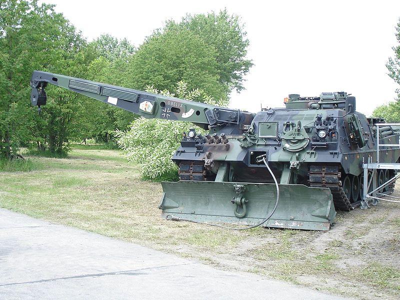 Bergepanzer 3 Buffalo armoured recovery vehicle