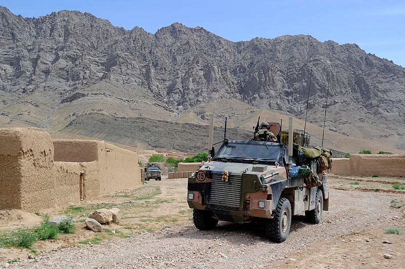 Bushmaster Protected Mobility Vehicles