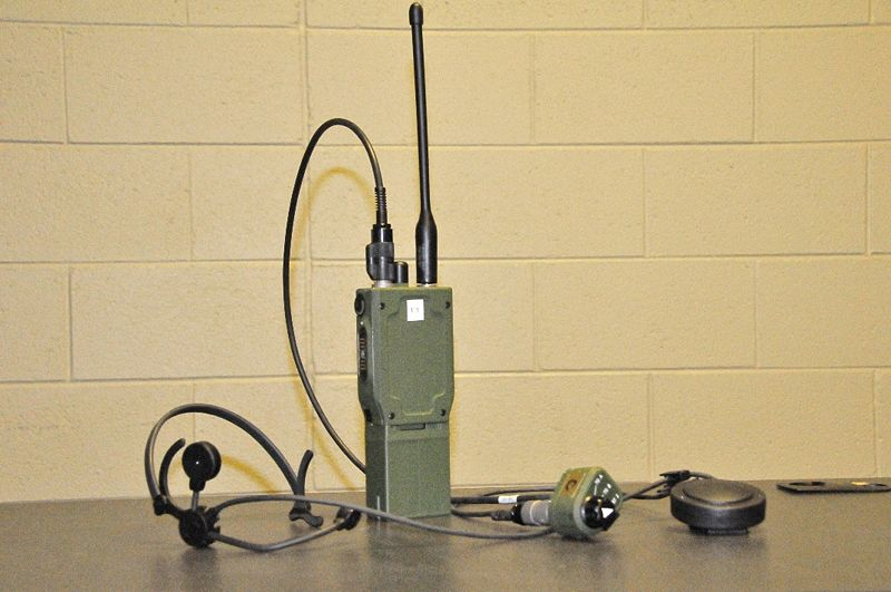 General Dynamics C4 Systems AN/PRC-154 Rifleman radios