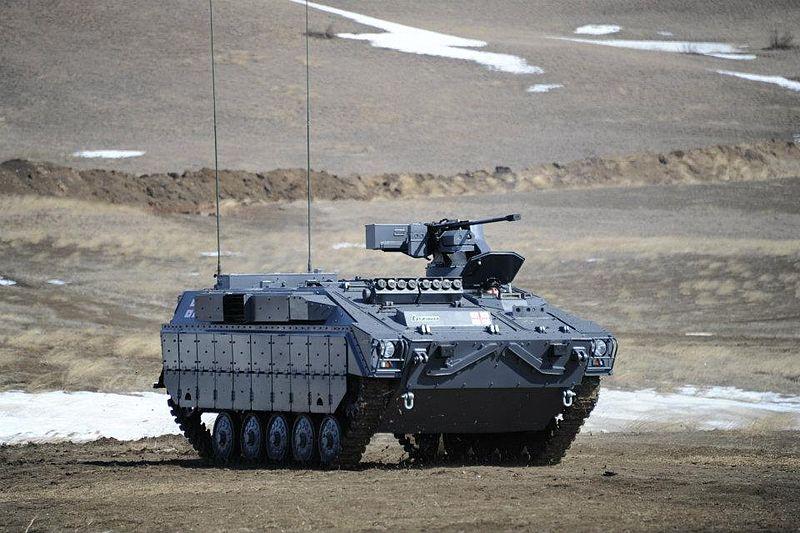 Lazika tracked Infantry Fighting Vehicle