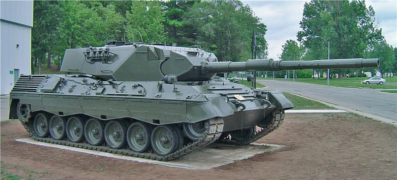 Canadian Army's Leopard 1A3 tank