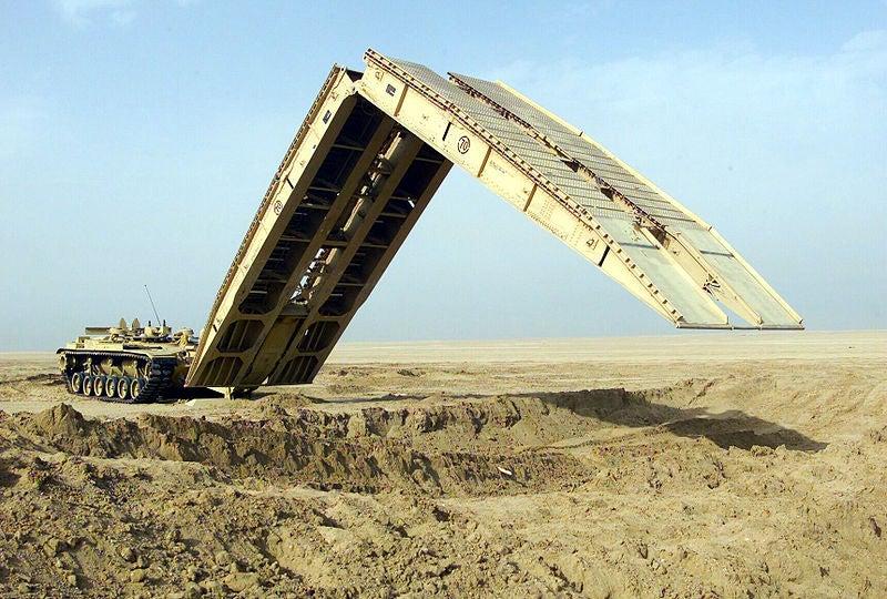 Joint Assault Bridge (JAB) prototypes
