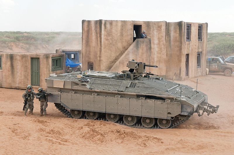 Namer armoured personnel carrier