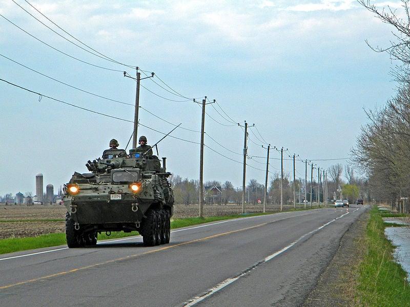 ight Armoured Vehicle III