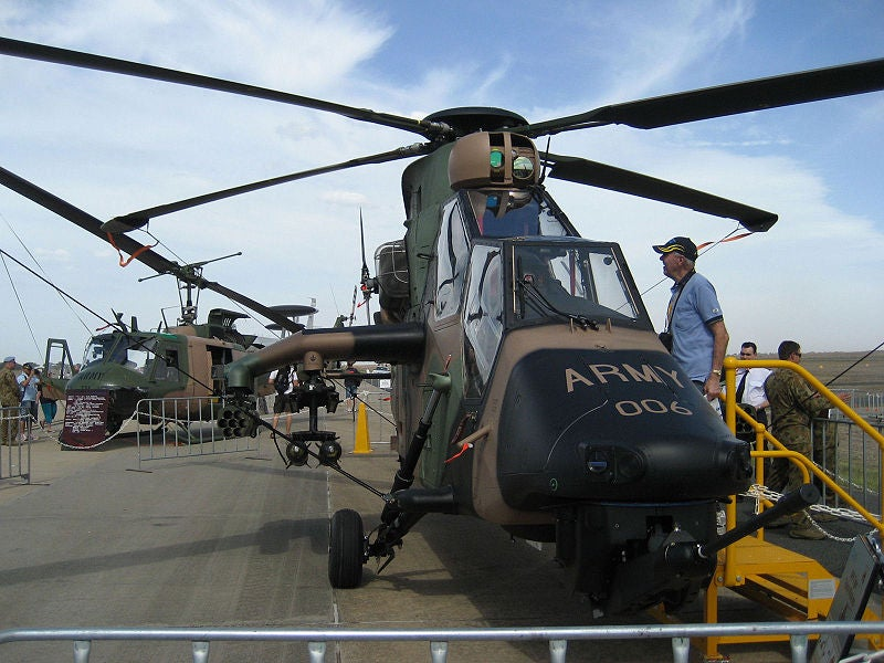 Australian Army's Tiger ARH attack helicopter
