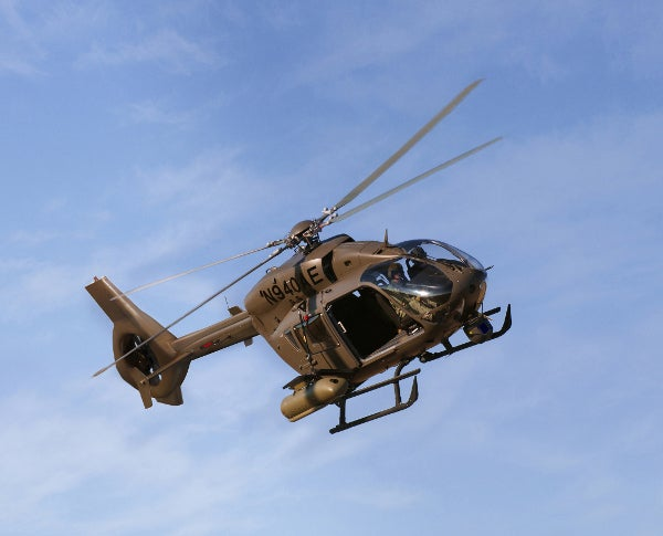 AAS-72X+ helicopter