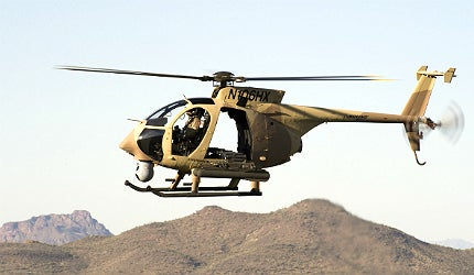 AH-6i incorporates the combat-proven airframe design of the AH-6M helicopter