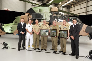 22 Tiger armed reconnaissance helicopter handover