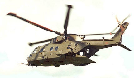 AW101 (EH101) Merlin / Cormorant Medium-Lift Military Helicopter