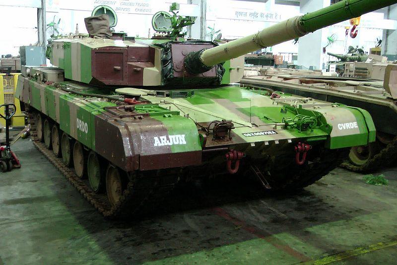 Indian Army's Arjun MBT