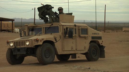 HMMWV vehicle