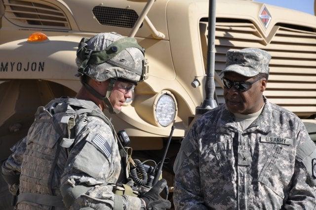 US Army tactical radio