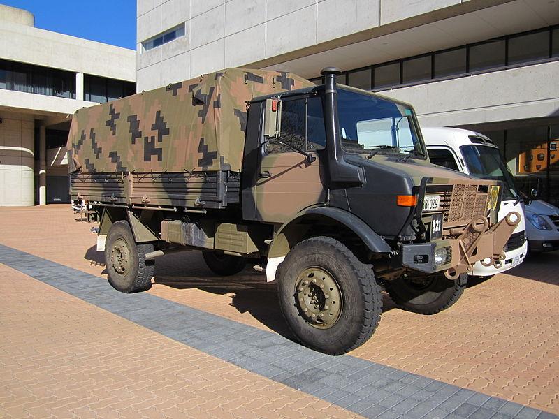 Unimog vehicle