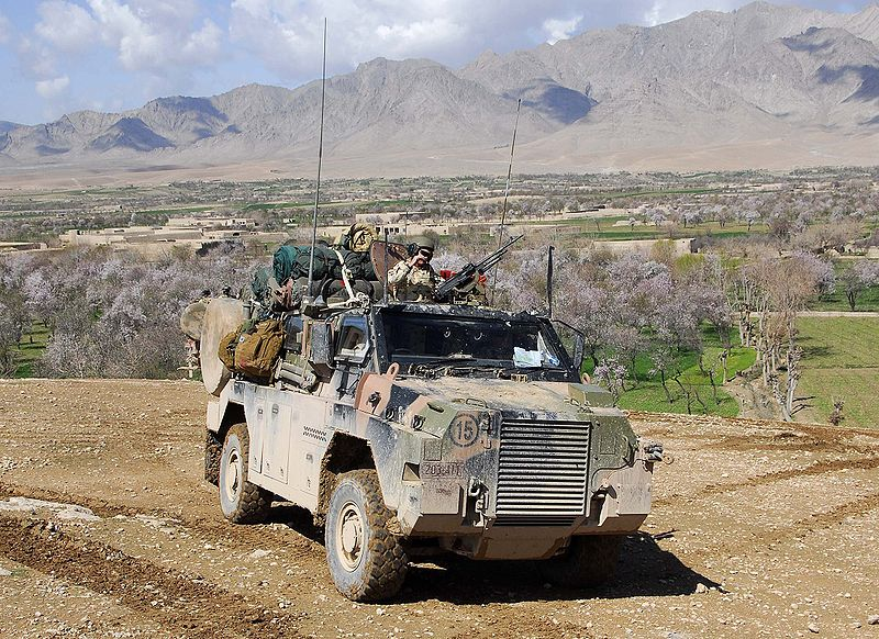 Bushmaster vehicle