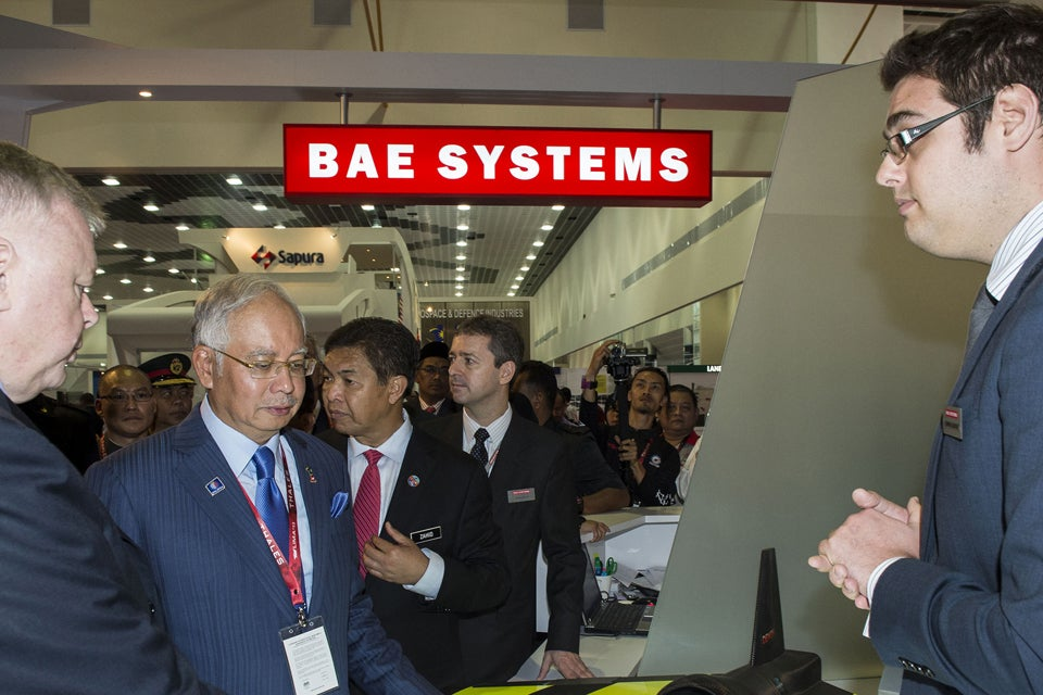 BAE Systems officials