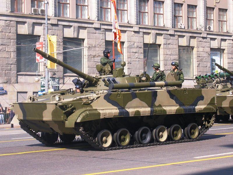 BMP-3 vehicle