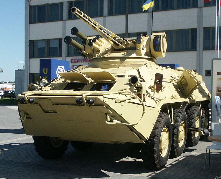 BTR-3 vehicle