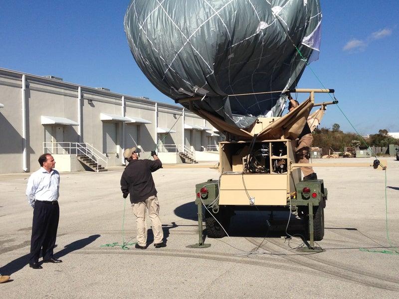 BiB aerostat system