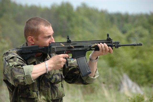 CZ 805 Bren rifle