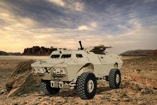 Armoured vehicle image