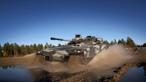 Norwegian Army's CV90 IFV