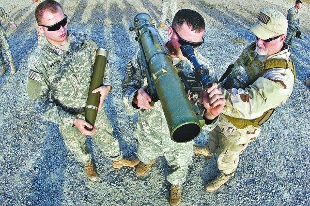 Carl Gustaf weapon