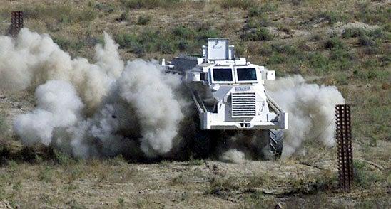 Casspir vehicle