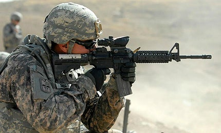 Assault rifle M4