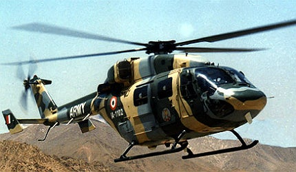 Dhruv (Pole Star) advanced light helicopter (ALH)