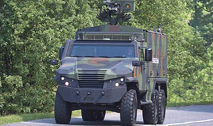 EAGLE 6x6 Light Tactical Vehicle (LTV) - Army Technology