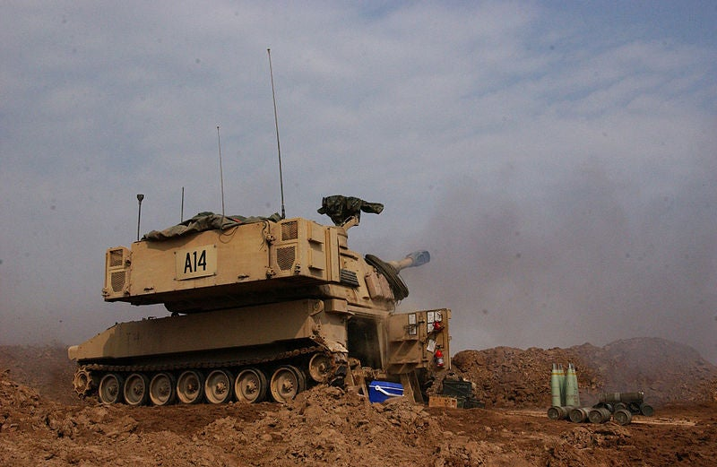 Paladin howitzer