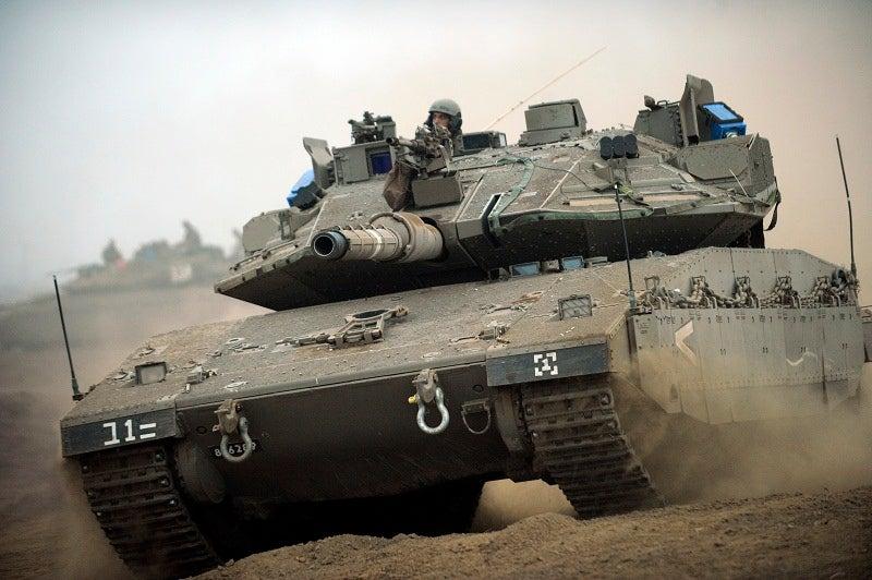 Merkava Mk. IV tank
