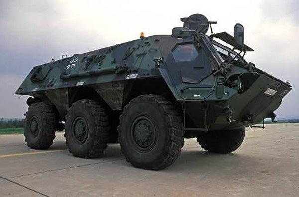 Fox reconnaissance vehicle