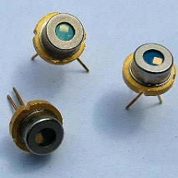 The laser diodes are highly reliable and have the option of having an integrated monitor photodiode