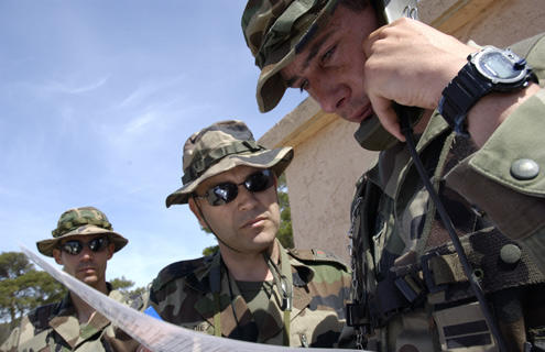 French soldiers