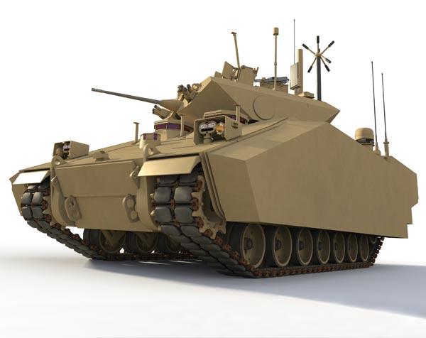 US Army GCV