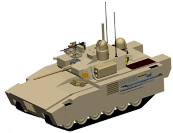 GCV Infantry Fighting Vehicle