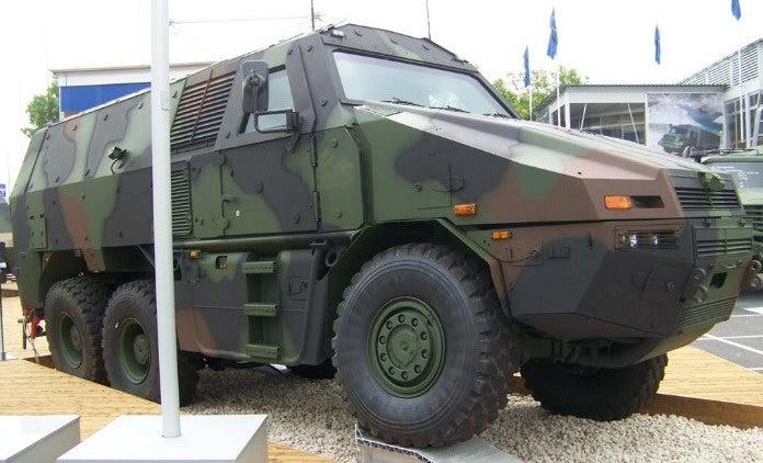 6x6 version Medium Multirole Tactical Vehicle