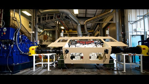 Bae Systems Has Successfully Completed 2 000 Miles Of Advanced Testing The Hybrid Electric Drive Hed System Its Proposed Vehicle For Us Army S