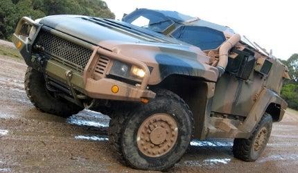 Thales Australia Hawkei military vehicle Paris
