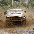 Thales Hawkei PMV Stage 1 prototype undergoing user assessment trials at Puckapunyal in Australia.